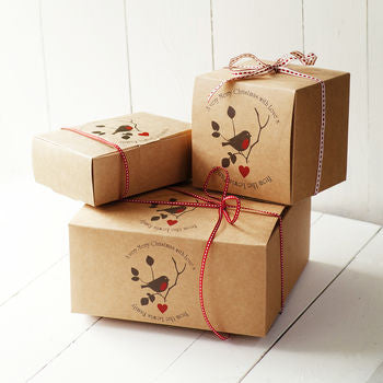 Christmas Gift Boxes.Personalised Christmas Gift Boxes