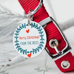 Personalised Christmas Pet Tag