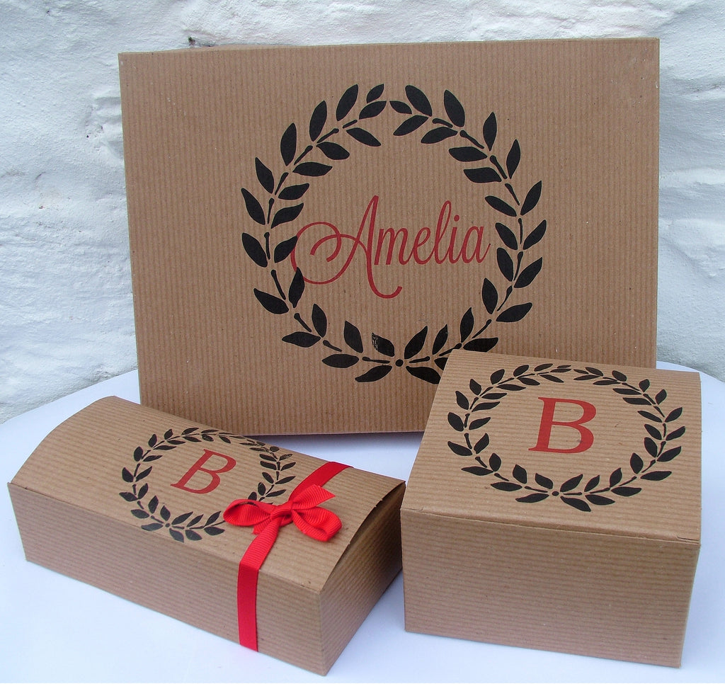 Personalised Monogram Gift Boxes