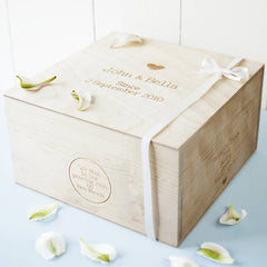 Our Story Personalised Keepsake Box