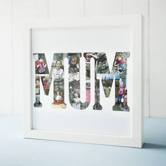 Personalised Photo Word Collage