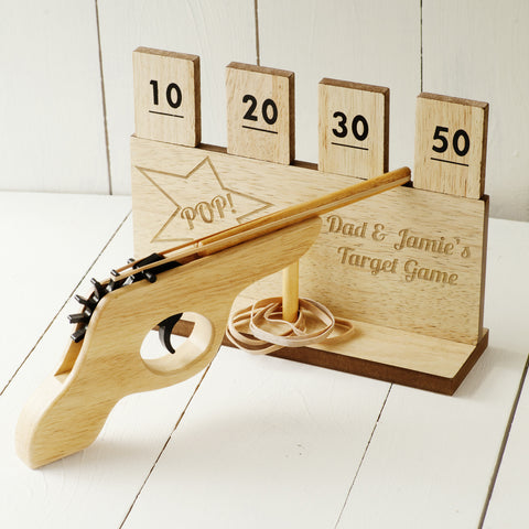 Personalised Elastic Band Target Shooting Range