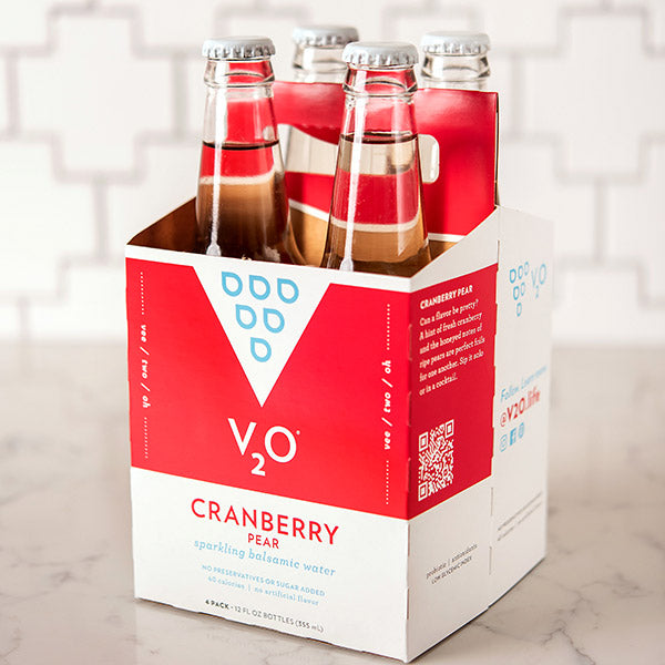 Cranberry pear 4 pack red