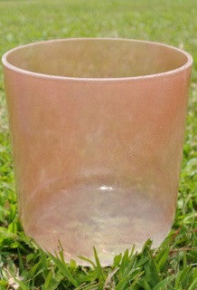 Morganite Alchemy Crystal Singing Bowl