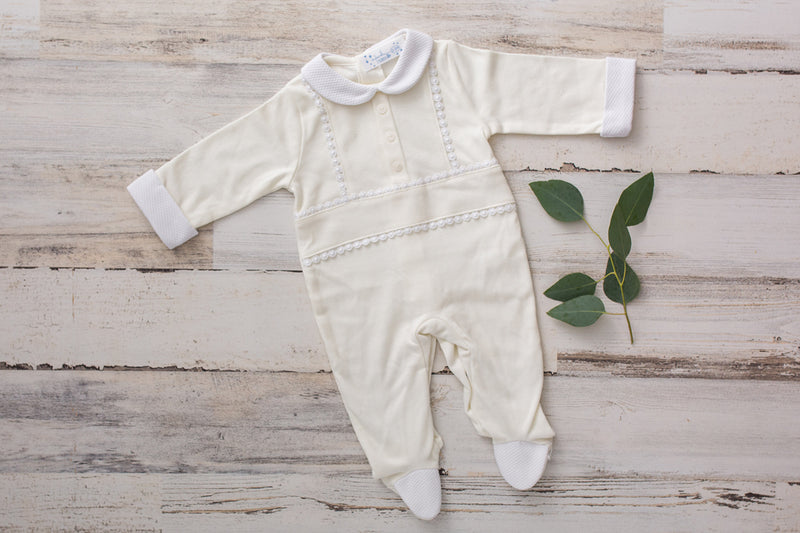 PISCIS |  Organic Cotton One-Piece Rompers