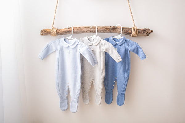 CYGNUS | Baby Knit Rompers
