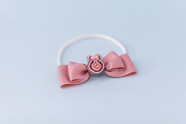 Hair Bow with Elastic