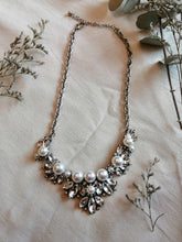 Load image into Gallery viewer, Collar plata con perlas