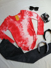 Load image into Gallery viewer, Body tie dye rojo