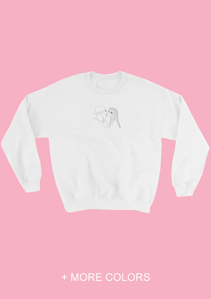 JUST A KISS SWEATSHIRT UNISEX