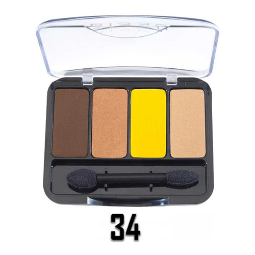 34 QUAD EYE SHADOW PALETTE