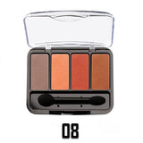 08 QUAD EYE SHADOW PALETTE