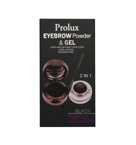 01 Eyebrow Powder & Gel
