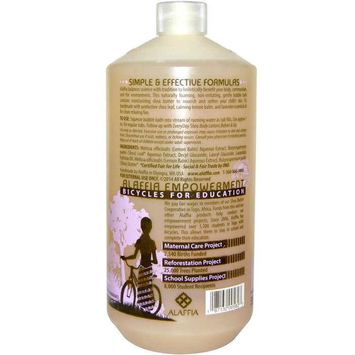 EveryDay Shea Body Bubble Bath- Lemon Lavender