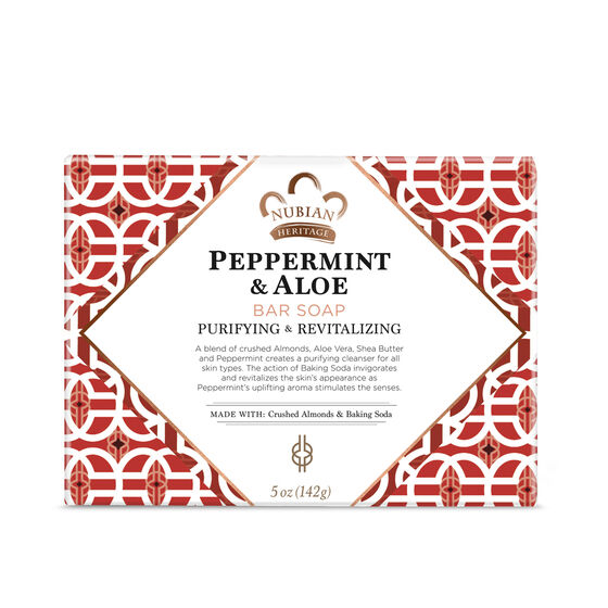 Peppermint & Aloe Bar Soap