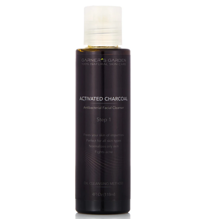 Activated Charcoal Facial Cleanser - 4theCultr
