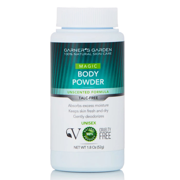 Natural Body Powder - Talc Free - 4theCultr