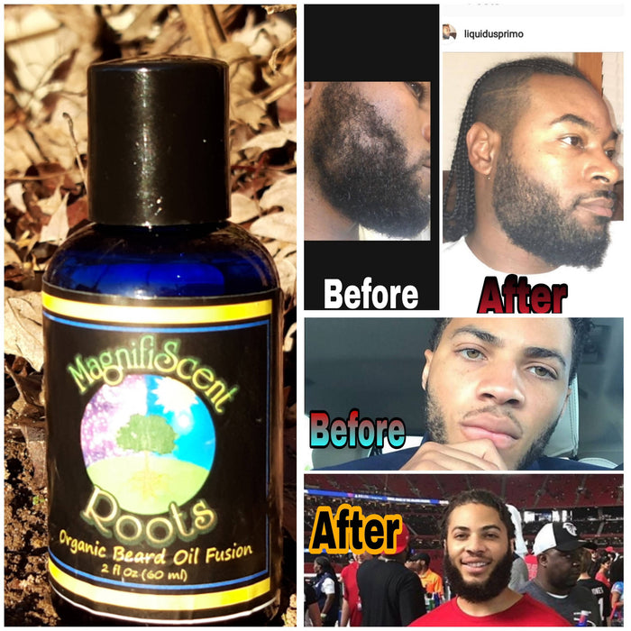 MagnifiScent Roots Beard Oil