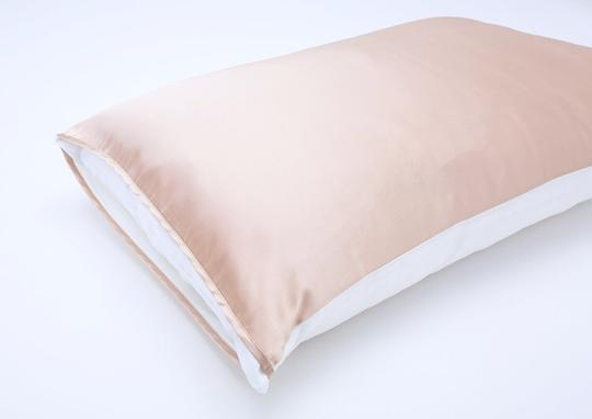 Champagne Silk Charmeuse Pillowcase - 4theCultr