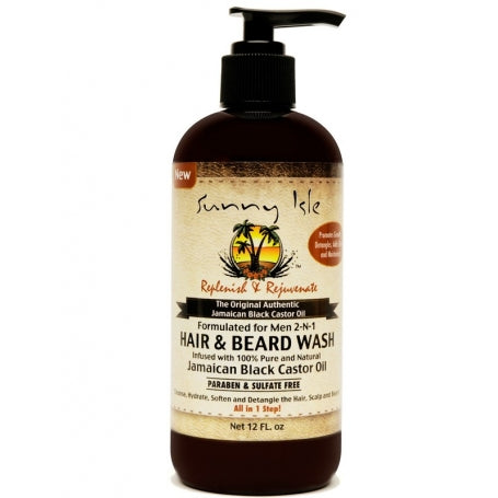 Men 2-N-1 Hair and Beard Wash - 4theCultr