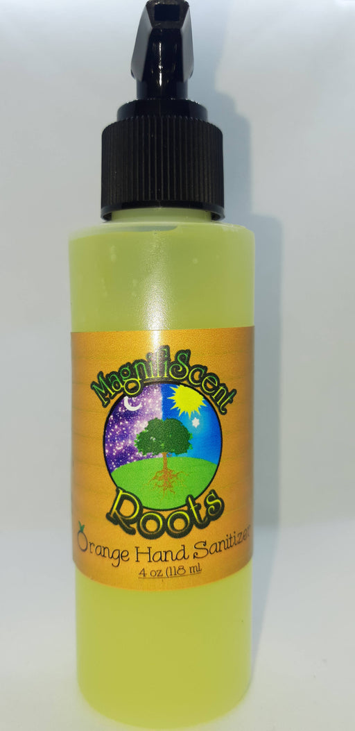 MagnifiScent Roots Orange Hand Sanitizer