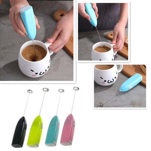 Mini Handheld Electric Mixer Stainless Steel