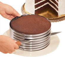 Load image into Gallery viewer, HelloCocinero™ Adjustable Cake Cutter Slicer