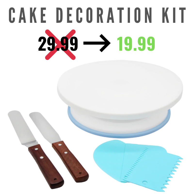 Cake Kit Decoration Tools 6PCS