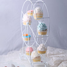 Load image into Gallery viewer, Rotatable Cupcake European White Wheel