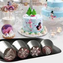 Load image into Gallery viewer, Christmas Design Pastry Nozzles
