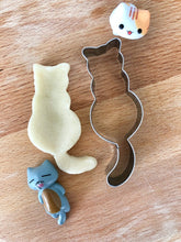 Load image into Gallery viewer, Cat Cookie Cutter Shaped Mold