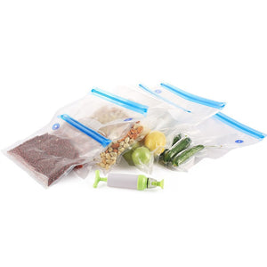 Food Vacuum Sealer Portable (5-Pack Bags)