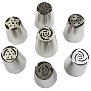 Russian Piping Tips 7Pc/Set
