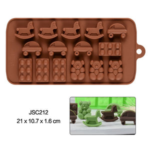 Chocolate Mold 24 Shapes