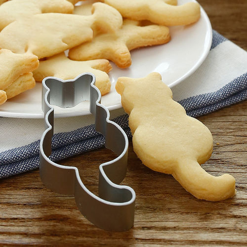 Cat Cookie Cutter Shaped Mold