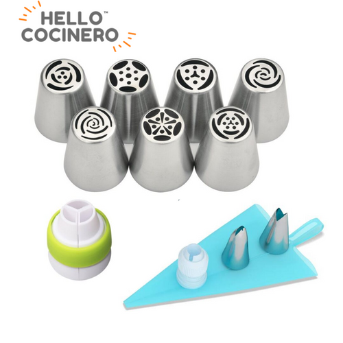 HelloCocinero™ Piping Set/11PCS Nozzle Pastry