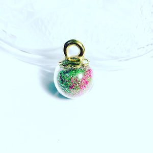 Glass Globe Charms