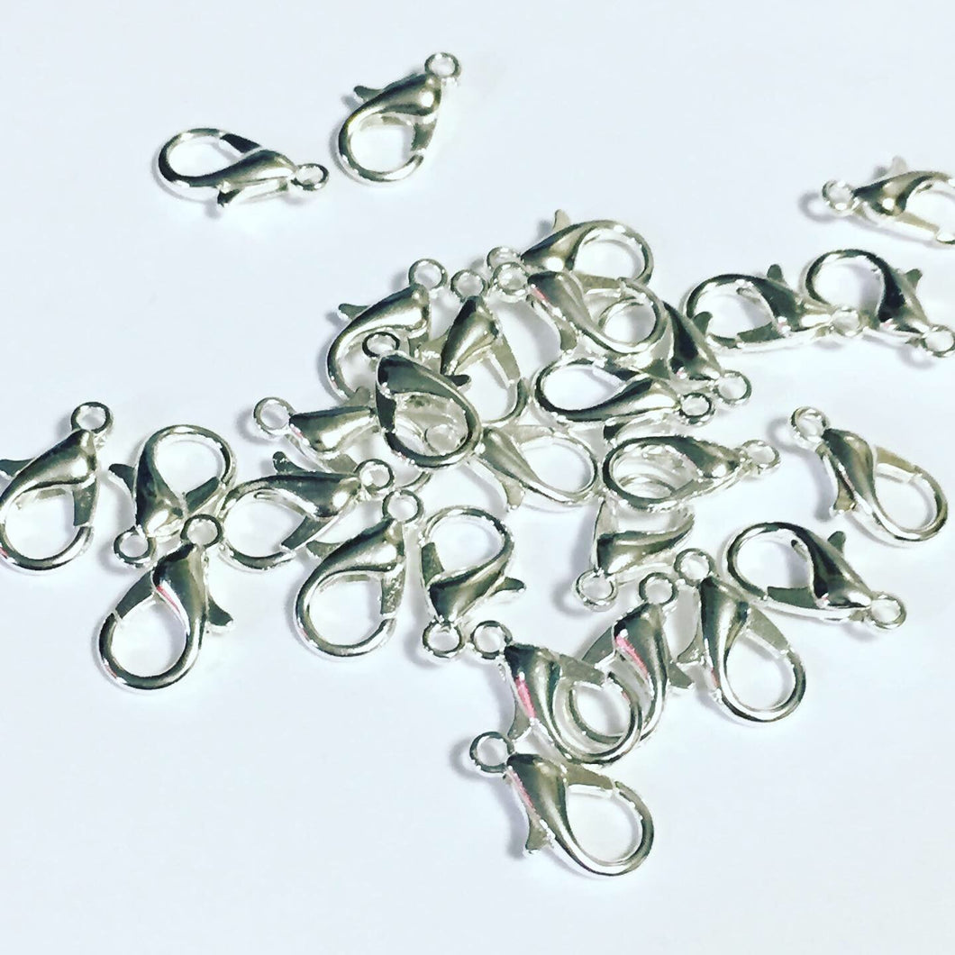 Silver Lobster Clasps