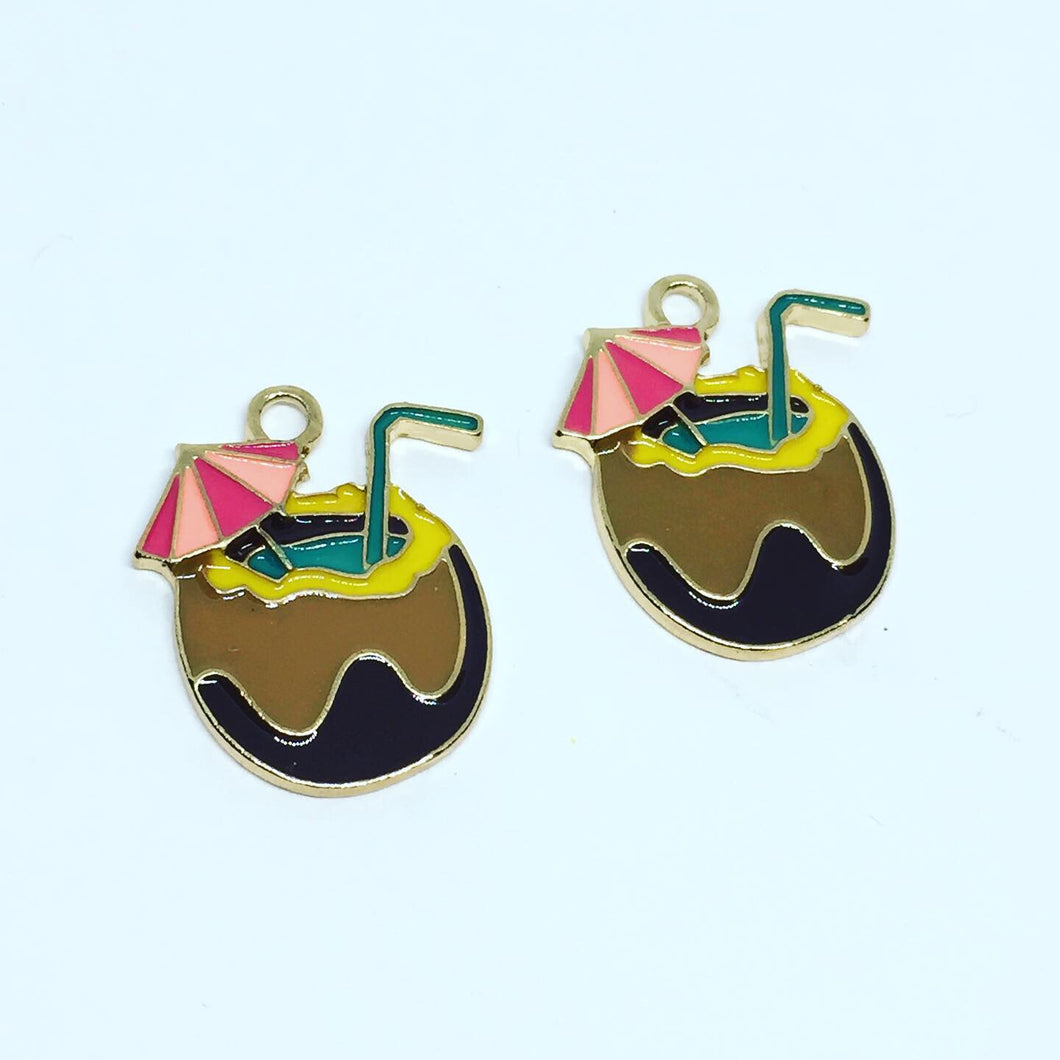 Coconut Drink Charms