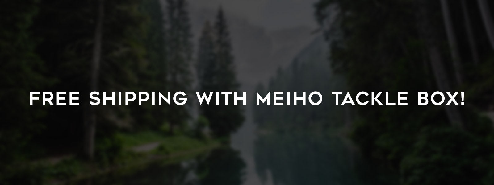 Meiho Tackle Box Offers Free Ground Shipping On Orders Over 40 Dolalrs
