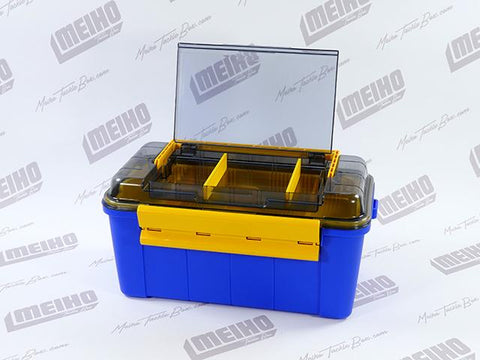 Water Guard 108 Tackle Box Top Compartment View