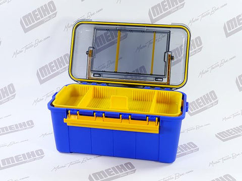 Water Guard 108 Tackle Box Inside Middle Compartment View