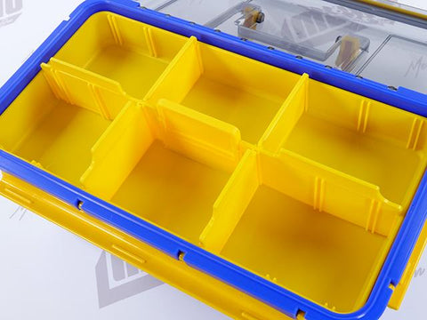Water Guard 72 Tackle Box Inside Top Compartment View