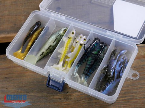 Plastic Case For Storing Fishing Lures and Tackle