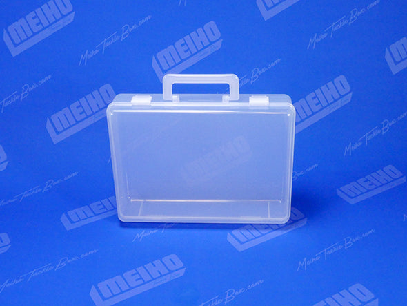 Plastic Brief Case Container With Handle