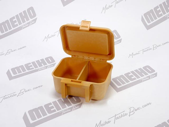 Hinged Lid Plastic Bait Storage Case