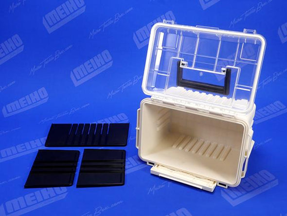 3 Removable Dividers Inside Tackle Box