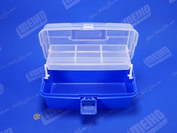 Plastic Tackle Box With Storage Tray