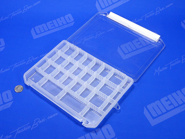 Plastic Compartment Container With Clear Lid
