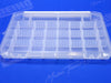 Strong Hinges Attach Clear Plastic Lid